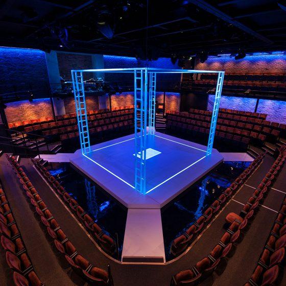 A Clockwork Orange - Liverpool Everyman - Company Season - Aerial - UV
