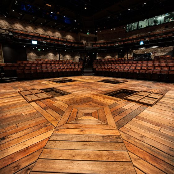 Paint Your Waggon - Liverpool Everyman - Company Season - Showfloor with Traps Open